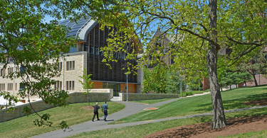 View of Kroon Hall